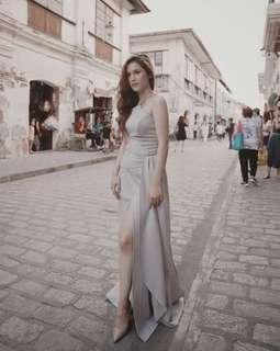 FOR RENT Apartment 8 GRAY Long Gown