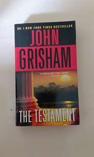 Novel second bekas john grisham the tastement