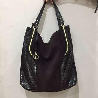 Leather tote bag/shoulder bag