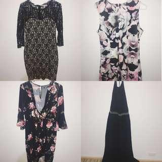 PARTY/FORMAL DRESSES ALL 4 FOR $50