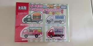 Tomica gift set food truck