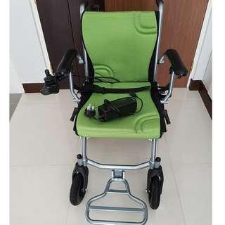 HBLD3-A-DUAL Ultra-Lite X Motorised Wheelchair - Dual Control