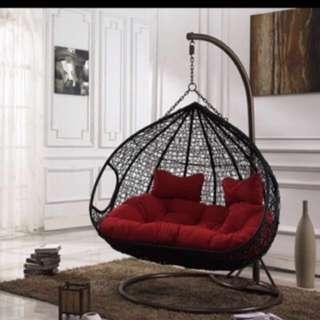♦️Preorder ♦️rattan Swing Chair   (3-4 Weeks ) Wicker Chair Swing