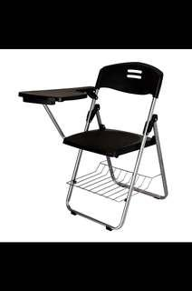 Preorder Foldabl chairs , chairs with writing board ,