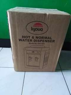 Water Dispenser, hot and normal only (Brand New)