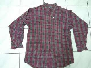 Kemeja Flanel patagonia size fit to XXL