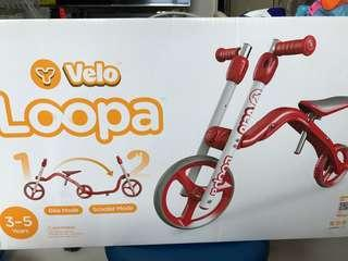 Y Velo Loopa (2 in 1 balance bike to Scooter)