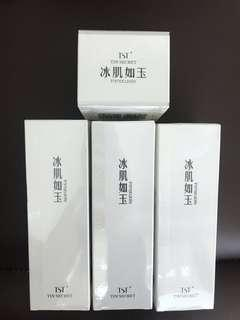 TST toner and moisturizer and gelly mask