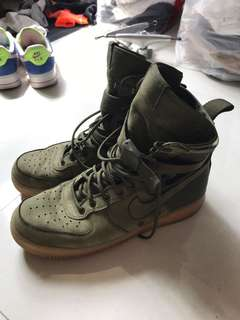 buy online 77c82 017e9 Nike Special Force Air Force 1 Faded Olive