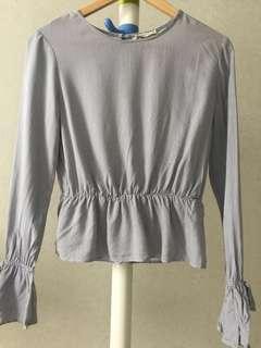 Bershka stripe blouse