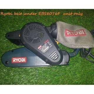 Ryobi Belt Sander 220volt EBS8076F (old stock)UNIT only