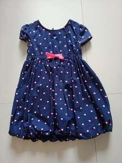 Old Navy Hearts Dress Size S