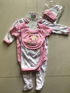 BN baby girl 5pc set