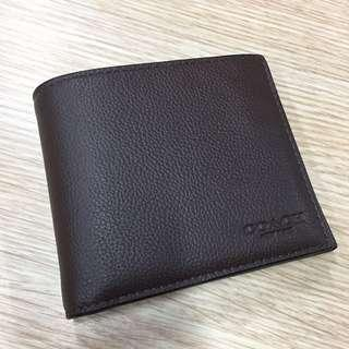 Authentic Coach Wallet for Men