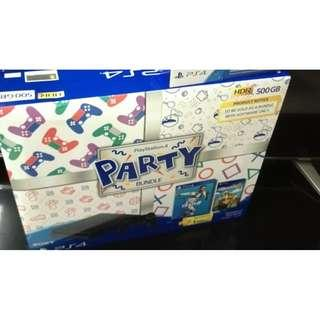 ps4 slim party bundle fifa 2019 (NEW ORI SONY MY)