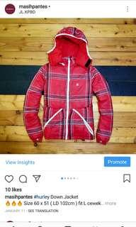 Hurley Down Jacket