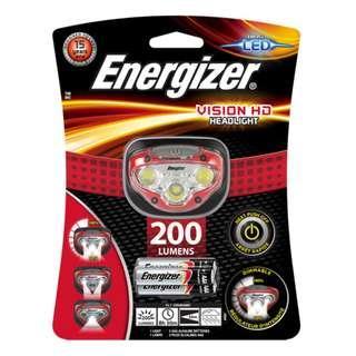 Energizer 勁量 HDB322 200流明 Vision HD LED 3檔 頭燈