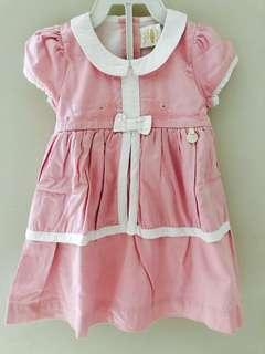 Truddy&Teddy cotton pink dress