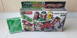 Kamen Rider W/Double DX Driver *Full Set with Cyclone Philip Voice ver. Terevi Magazine Limited New*