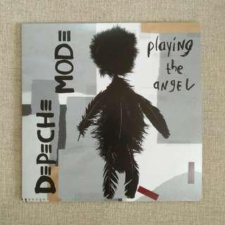 "LP:  Depeche Mode ‎– Playing The Angel Double 12"" Album Vinyl Record"