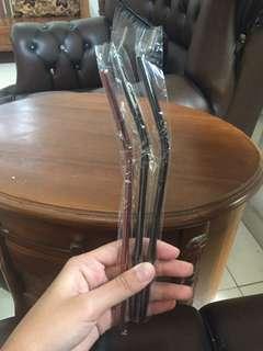 Reuseable straw / sedotan stainless