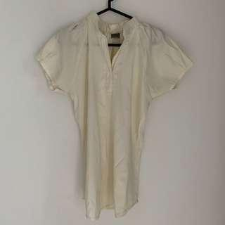 🎁 All size blouse white
