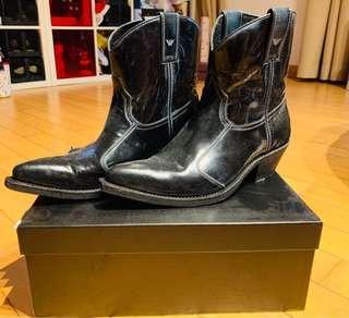Emporio Armani Men boots - real calf leather