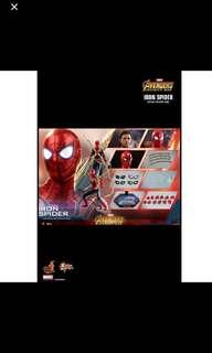 Confirmed Po slot hot toys Iron man spider man