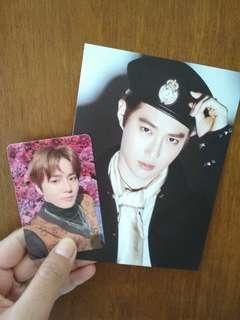 OFFICIAL PHOTOCARD & POSTCARD SUHO ALBUM EXO DON'T MESS UP MY TEMPO MODERATO VER