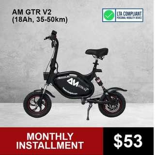 AM GTR V2 (21Ah, 100-110km) Electric Scooter
