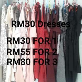 RM30 Dresses