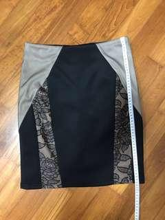 🚚 Business black and lace Skirt
