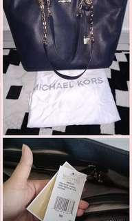 Original MK Bag in Navy Blue