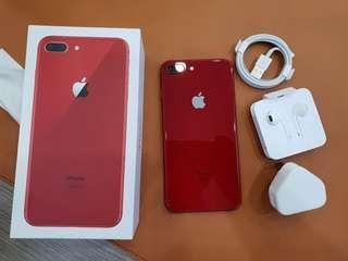 Apple iPhone 8 Plus 64GB Red Edition Garansi Internasional