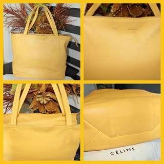 Celine Yellow w/zip
