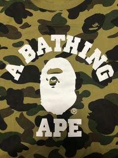 A Bathing Ape Tee camo