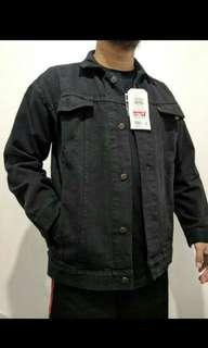 JACKET BLACK DENIM LEVIS