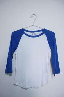 H&M varsity shirt