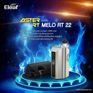 Eleaf Aster RT KIT MELO RT 22 Set 依丽芙电子原装眼正品新品Q4