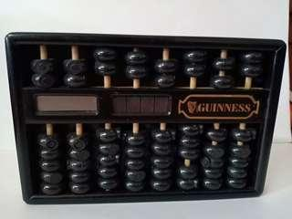 Rare Guinness Abacus