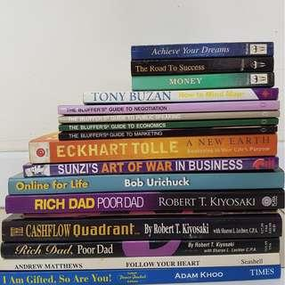 Business/self-help book clearance