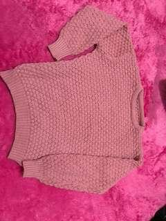 Sweater duty pink