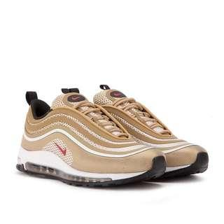 Air max 97 ultra 17 metallic gold and red