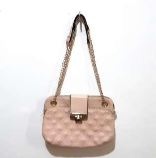 Newlook nude pink chainbag