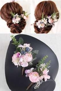 新娘頭花 wedding hair acc✨NEW✨