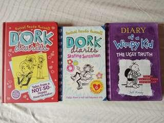 Dork Diaries & Wimpy kid - English