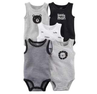 Carter's Sleeveless Bodysuits