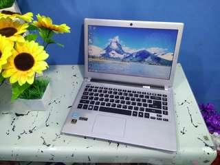 Laptop Acer V5-431 V5 431g Mulus Gaming n design