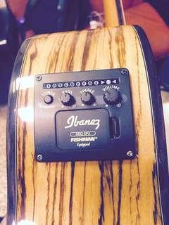 🚚 Ibanez acoustic guitar