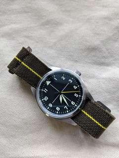 IWC-inspired Sterile Flieger Watch